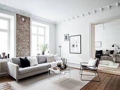 Home tour   A texture-filled Gothenburg apartment   These Four Walls blog