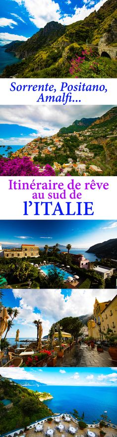 Positano, Amalfi, Sorrente... voyage sur la côte amalfitaine avec le blog de voyage Itinera Magica ! Que voir, que faire, où dormir entre Sorrente, Positano et Amalfi ?