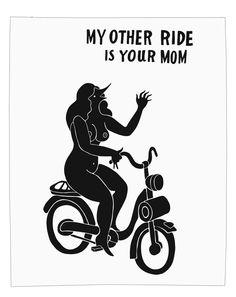 Parra My Other Ride Print | Arkitip, Inc. — Designspiration