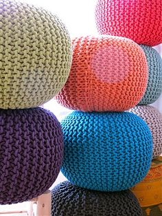 Knitted Gumballs