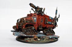 40k - Adeptus Mechanicus Taurox by Banzai1000