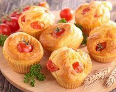 Muffins de carotte aux tomates cerise