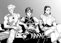 Hisoka, Chrollo and Illumi - Hunter x Hunter