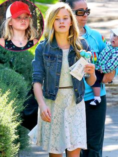 Ava Phillipe daughter of Ryan Phillipe and Reese Witherspoon