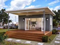 Monaco - One Bed One Bath Prefabricated Modular Home | Container Home Perhaps I just need land
