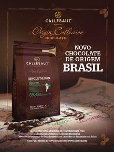 Falemos de gastronomia: Callebaut lança Chocolate com Cacau Brasileiro