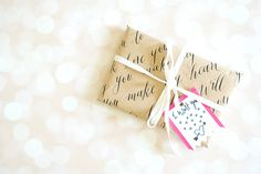 DIY Valentines gift wrap ideas by Zakkiya Hamza of Inkstruck Studio