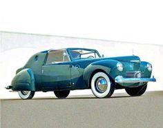 ❦ Raymond Loewy Lincoln design.