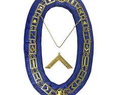 d5a982931077 Masonic Working Tools Set Collar Chain   Senior Deacon Level Pendant Jewel  Set