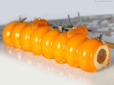 Entremet de Pâques à l'abricot et senteur de romarin - La recette illustrée - MeilleurduChef.com