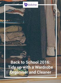 Back to school is quickly approaching and there is a lot to do? A wardrobe organiser and domestic cleaner can help you prepare and enjoy your summer!