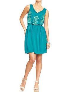 1d0b7c2fc1b  20 Women s Embroidered Sleeveless Gauze Dresses
