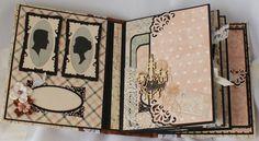 "Inside look at The ""Cherish"" Mini album I made useing Riddersholm's ""Vintage…"