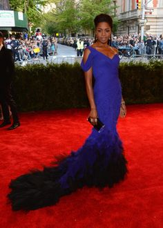 Met Ball 2013: Red Carpet Fashion From Your Favorite Stars (PHOTOS) - Naomie Harris