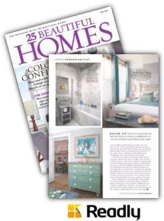 Suggestion about 25 Beautiful Homes Magazine July 2016 page 54