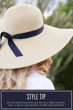 how to wear summer hats