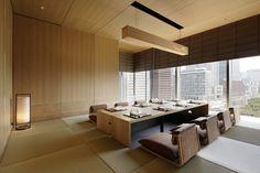 Palace Hotel Tokyo's private dining in Wadakura restaurant