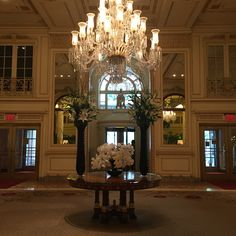 The Plaza Lobby - NYC