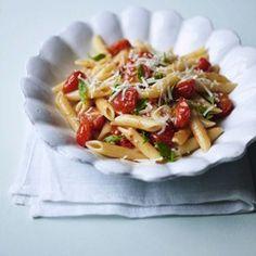 Speedy Cherry Tomato Pasta