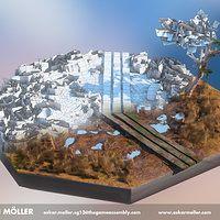 ArtStation - 3D Bog Environment, Oskar Johansson Möller