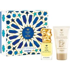 Sisley-Paris Limited Edition Eau du Soir Azulejos Fragrance Gift Set... (€115) ❤ liked on Polyvore featuring beauty products, gift sets & kits, edp perfume, sisley, sisley perfume, fragrance gift sets and eau de perfume