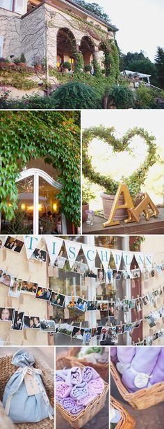 Celi und Franks Hochzeit bei Chris Spira Photography  Super Idee für einen Tischplan