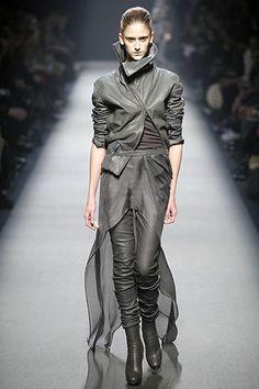 Haider Ackermann Fall 2008 Ready-to-Wear Fashion Show - Daiane Conterato (Elite)