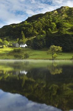 England, Cumbria, Lake District... Lake District is where Beatrix Potter lived.. One day I will get there!