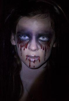 Halloween Makeup look; Bloody Mary