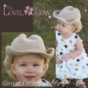'Boot Scoot'n Cowboy Hat' Crochet pattern #diy