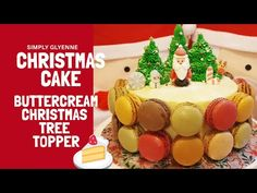 How To Make A Simple Christmas Cake   Buttercream Christmas Tree Toppers 🎄Without Ice Cream Cone - YouTube Family Christmas, Simple Christmas, Christmas Diy, Christmas Tree Toppers, Cake Creations, Gingerbread, Ice Cream, Cakes, Youtube