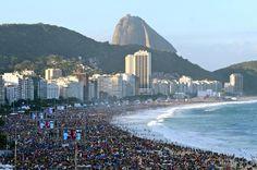 Tumblr  Jornada da Juventude.  Copacabana-Rio de Janeiro.Brasil