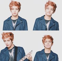 V ♡ god im dyin with his hair like that:') rip ovaries..