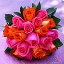 Orange and Fuschia Wedding | Pink and Orange Wedding | Hot Pink and Orange Wedding | Orange and Magenta Wedding | Summer Wedding | Table Decor | Centerpieces | Nails | Nail Art | Makeup | Wedding Trends | Candy | Eyes | Invitations | Flowers | Wedding