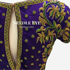 """268 Likes, 2 Comments - Needle Eye Bangalore (@needleeye_bangaloreofficial) on Instagram: """"One of our most favourite colour combination! . . . . #needleeye #weddingcollection #bangalore…"""""""