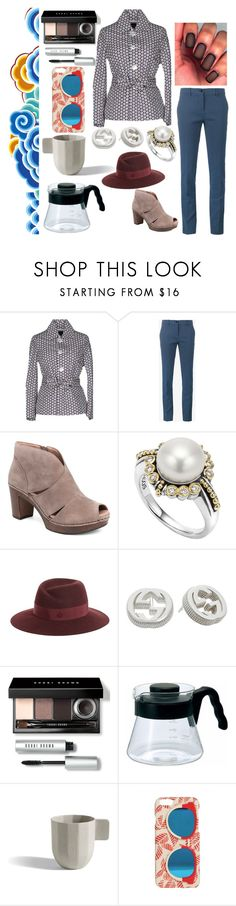 """""""Untitled #815"""" by yasm-ina ❤ liked on Polyvore featuring Dsquared2, Etro, Dansko, Lagos, Maison Michel, Gucci, Bobbi Brown Cosmetics and Tory Burch"""
