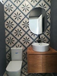 powder room renovation by Tatiana Doria Powder Room, Vanity, Bathroom, Home Ideas, Dressing Tables, Washroom, Powder Rooms, Vanity Set, Full Bath