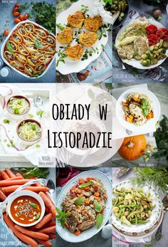 Pomysły na obiady w Listopadzie Diet Recipes, Healthy Recipes, Polish Recipes, Ketogenic Diet, Cobb Salad, Food Porn, Lunch Box, Food And Drink, Menu