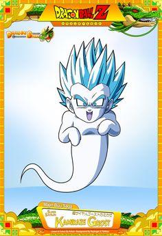 Dragon Ball Z - Super Saiyajin Kamikaze Ghost by DBCProject