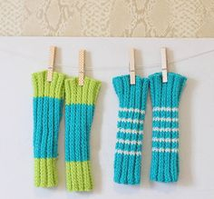 Baby Legwarmers [knitting pattern]