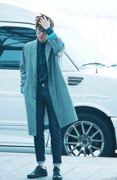 I just like the way he dresses