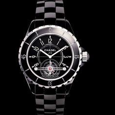 Chanel J12 Tourbillon (2005) : complication de haute volée