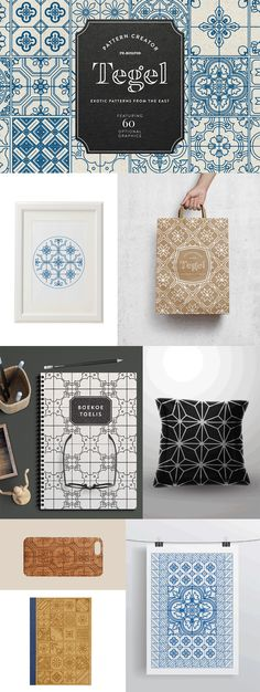 The Gigantic Textures and Patterns Bundle - Design Cuts Arabic Pattern, Thai Pattern, Branding Workshop, Packaging Design, Branding Design, Love Design, Ci Design, Textures Patterns, Wall Textures