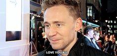 Love you too