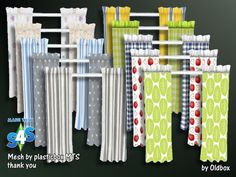 Curtains by Oldbox at All 4 Sims via Sims 4 Updates