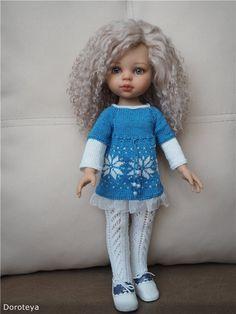 Нежный цветочек-рождение! ООАК Паола Рейна / Paola Reina, Antonio Juan и другие испанские куклы / Бэйбики. Куклы фото. Одежда для кукол