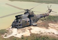 The Westland/Aerospatiale Puma helicopter in action over Bosnia, 1993 #British #Aviation