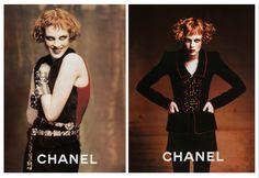 Karen Elson for Chanel.