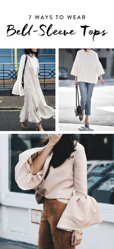 Flattering, feminine and oh so easy to pull off: Don't be surprised if you start to see this blouse du jour everywhere in 2017. Here are seven ways to rock the bell-sleeve top.