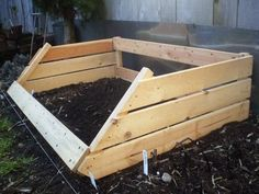"Lorene presents us with her ""urban hillybilly chic"" hack – a cold frame to protect your vegetable patch from chilly weather. Anyways, if you're one with a green thumb, better start scoring some cheap Gorm shelving from the as-is. You'll probably be wishing you did in … er … Jan? She says, ""Cold frames are [&hellip"